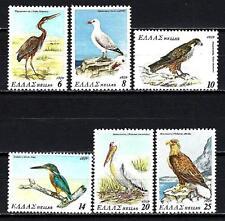 Greece -Greece 1979 birds Yvert n° 1350 à 1355 neuf 1st choice