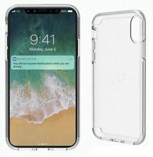 GENUINE CYGNETT STEALTHSHIELD CRYSTAL CLEAR GLASS CASE COVER FOR IPHONE X