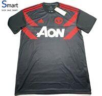 $90 NWT MEDIUM MEN adidas Manchester United Soccer Jersey Home Futbol Shirt Reds