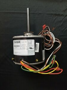 Carrier Parts AC Air Conditioner Condenser Fan Motor 1/4 HP 1075 RPM 230 Volts