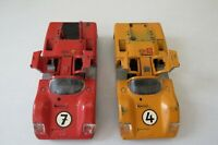 Vtg Lot 2 SOLIDO France CHAPARRAL 2 F 1:43 Scale Both Used
