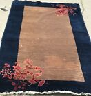 AN AUTHENTIC ART DECO CHINESE RUG