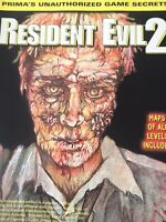 Resident Evil 2 Game Guide Magazine 1997 Puzzle Solutions 120418nonrh