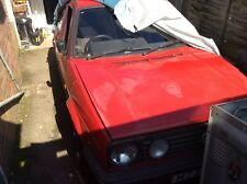 Vw golf mk2 1.3 ryder project