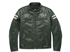 Harley Davidson Throwback Leather Riding Jacket 97194-18em 2xlarge