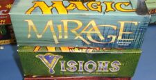 Magic the Gathering Mtg Empty Mirage and Visions Booster boxes!