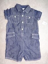 NEW Baby Gap 12-18 Month Boy Romper Dress Outfit Summer