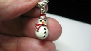 NICEJUDITH RIPKA STER SILVER CHARM W/ENAMEL, EXCELLENT COND, DOES NOT OPEN