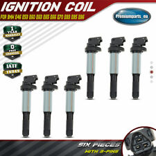 6x Ignition Coils Pack for BMW 3er 5er X5 X3 E39 E46 E90 E63 E64 316i 320i 530i