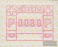 Schweiz ATM4 0,80 Nominale (kompl. Ausg.) gestempelt 1990 Automatenmarke