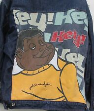 Vintage Fat Albert platinum fubu Denim Jacket 2X FREE SHIPPING!