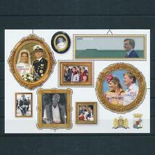 [CU357] Curacao 2017 Royal anniv. Willem-Alexander Maxima Souvenir Sheet MNH
