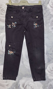 Girls Age 3-4 Years - M&S Summer Trousers