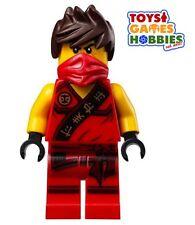*NEW* LEGO Kai Sleeveless Minifigure Ninjago Red Ninja Minifig set 70752 Jungle