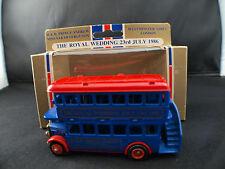 LLedo Days gone The royal Wedding Andrew Sarah 1986 London bus neuf en boite