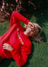 BNWT Zoe Karssen Romantix Red Valentine Present Zips Sweatshirt S