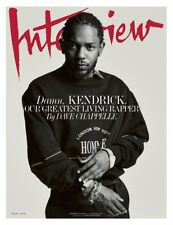 INTERVIEW Magazine Kendrick Lamar by Dave Chappelle NEW