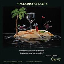 Michael Godard Paradise At Last Open Edition