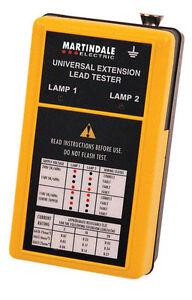 Martindale - LTDV - Extension Lead Tester - QTY 1 (Inc VAT)