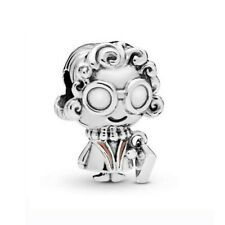 Flower Silver Charms Pendant Bead For European Original Bracelet Bangle Chain
