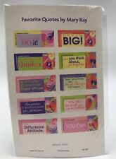Official Mary Kay Favorite Quote Stickers 20 Total Labels