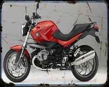 Bmw R 1200R 11 6 A4 Metal Sign Motorbike Vintage Aged