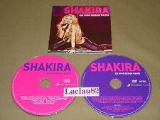 Shakira En Vivo Desde Paris 2011 Sony Music Cd Doble Mexico