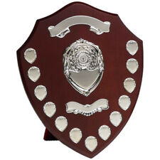 "Personalised Annual Presentation Shield Award Trophy 16"" High"