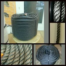 Cordage corde polyéthylène (plastique) 12mm x 100 mètres