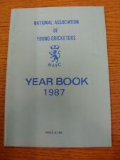 1987 Cricket: National Association Of Young Cricketers - Yearbook. Thanks for ta