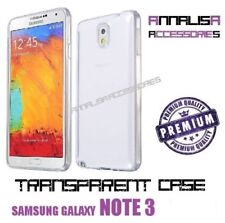 COVER TRASPARENTE PER SAMSUNG GALAXY NOTE 3 N9500 CUSTODIA GEL TPU SLIM CASE