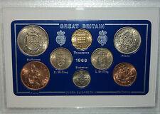 1966 Vintage Coin Set 52nd Birthday Birth Year Present Wedding Anniversary Gift