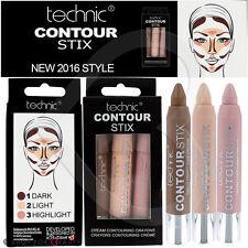 Technic Contour Stix Cream Contouring Kit Sticks Crayons Set Bronzer Highlighter