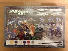 Warhammer 40,000 40k Set ataque sobre negro alcance Pintura Set Nuevo Sellado