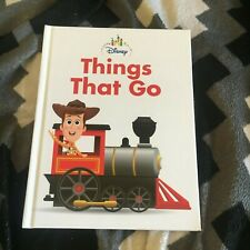 NEW. DISNEY MY FIRST LIBRARY/ SCHOLASTIC. THINGS THAT GO BOOK. 9781760665494