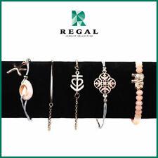 Maureen Montagne - Elegant Sea Ornament Bracelet Set - Regal Jewelry Collection
