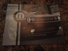 2014 Dodge Challenger Accessories 10-page Original Sales Brochure