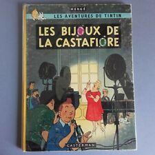 BD Tintin Les Bijoux de la Castafiore EO Belge B34 1963