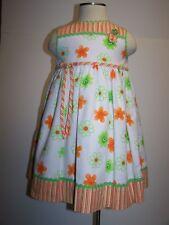 Sarah Louise England Girl Dress Size 2 Years Floral Sleeveless EUC Gorgeous
