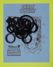1995 Williams Dirty Harry pinball rubber ring kit