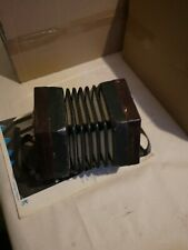 More details for rare antique 31 buttons lachenal anglo concertina squeeze box year approx 1900.