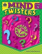 Mind Twisters Grade 4 by Clark, Sarah Kartchner, Good Book