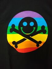 DEFCON Hacker Conference Official Diversity Rainbow Pride  T-Shirt- XL