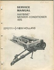 New Holland Haybine Mower-Conditioner 495 service manual