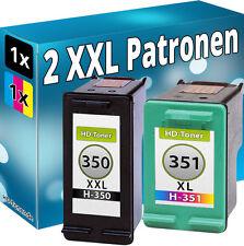 2x DRUCKER PATRONEN für HP 350 XXL+351 XL C4580 C5280 D5360 C4280  D4260 D4360