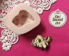 Sea Shell V 3D Silicone mold shells fondant soap Food Cake Decoration