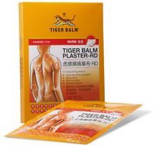 Tiger Balm Medicated Plaster Warm pain relief 10 x 14cm 9 pcs