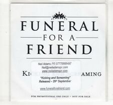 (HM59) Funeral For A Friend, Kicking And Screaming - 2008 DJ CD