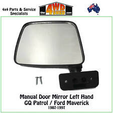 DOOR MIRROR LH fit NISSAN PATROL GQ Y60 LEFT HAND SIDE 1987-1997 FORD MAVERICK