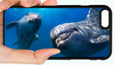 DOLPHIN DOLPHINS OCEAN AQUATIC PHONE CASE FOR IPHONE XS XR X 8 7 6S 6 PLUS 5C 5S